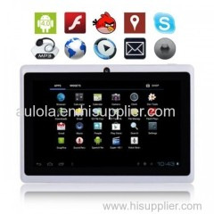 """New 4GB 7"""" MID Google Android 4.0 Multi-touch Capacitive Tablet PC - Aulola"""