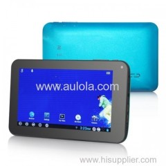 """7"""" 4GB Blue Multi Touch Android 4 HD Tablet PC - Aulola"""