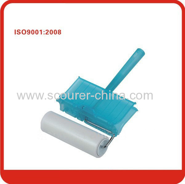 16*60cm Fixed steel handle Super Duster Roller Sticker with Plastic PP steel and paper