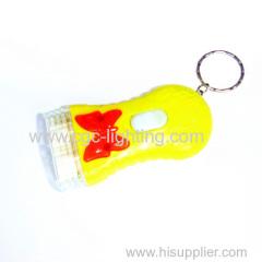creative keychain mini flash light