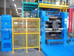 Two/Three/Four Roll Rubber Calender