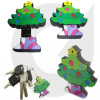 Lastest design for Christmas gift pvc keychain flash drive