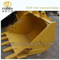 E325 excavator bucket 1.5m3