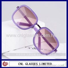 New Trend Multicolor Acetate Women Sunglasses Trade Shows (LD0805)