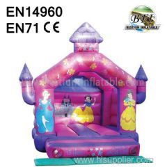 Small Pink Princess Inflatable Pink House