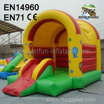 Jumping Inflatable with children's slide