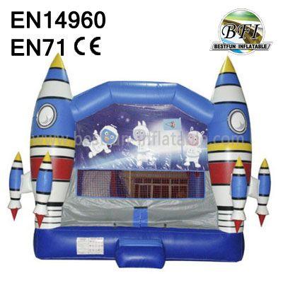 Inflatable Theme Rockets Castle