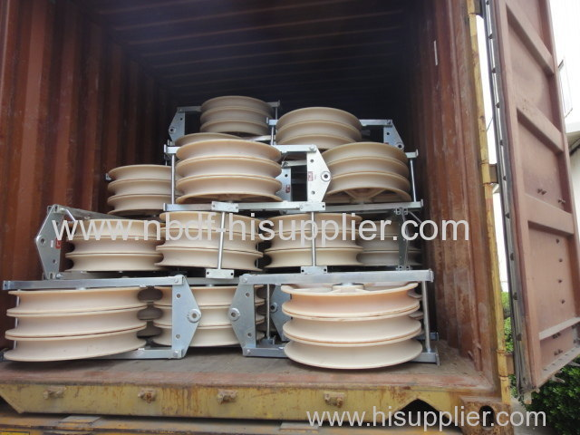 220KV stringing equipment exported to South asia area
