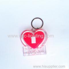 Cute mini keychain flash light with high power