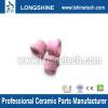 pink alumina textile ceramic eyelet