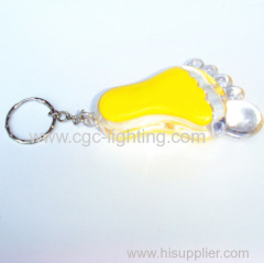 cute and high power mini led keychain flash light