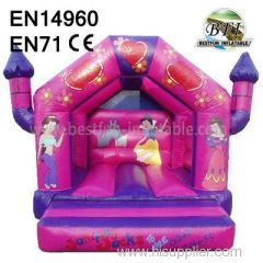 business Pink Jumping Inflatable for sale