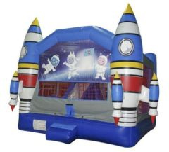 Inflatable Big Space Jump Castle