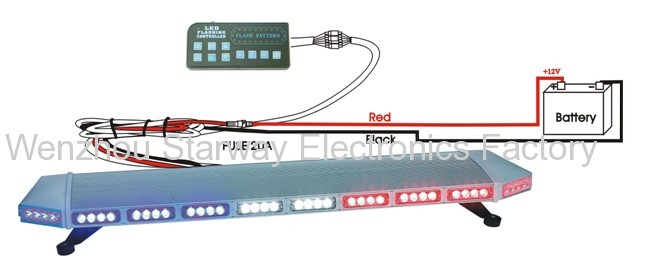 Emergency led full light bars for police construction ems emergency led full light bars for police construction ems mozeypictures