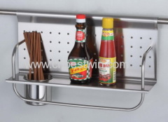 Stainless Steel Kitchenware Rack