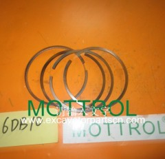 6DB10 PISTON RING FOR EXCAVATOR