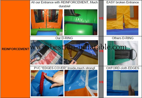 Dolphin Bounce Inflatables Jumping Outdoor
