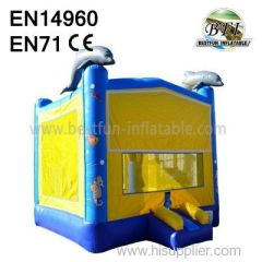 Big Dolphin Inflatables Jumping Outdoor