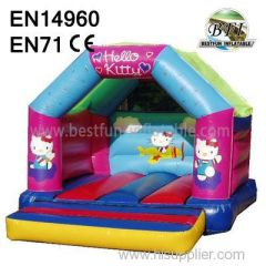 Simple Hello Kitty Inflatable House Jumping