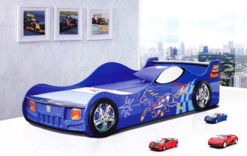 kids car bed children bedroom set