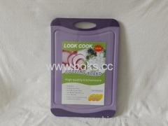 Plastic kitchen Cutting Board with Circle Handle