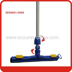 35cm 45cm 55cm special connector design floor Blue squeegee with EVA insert