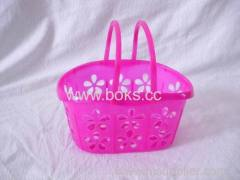 2013 Plastic mini Handle Baskets