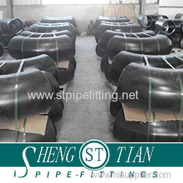 Carbon Steel A234 Wpb ANSI Standards Butt Welding 90 Deg Elbow