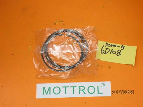 6D108 PISTON RING FOR EXCAVATOR