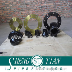 Carbon steel pipe fitting flange