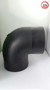 HDPE 90 degree Elbow socket fusion fittings SDR11 from China
