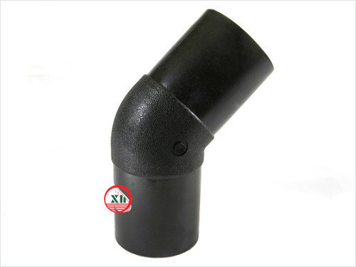 2014 HDPE fittings 45D Elbow water supply from China