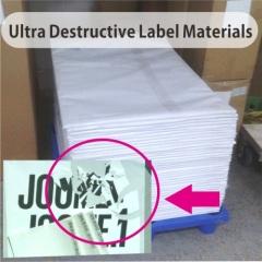 Ultra Destructible Vinyl Materials in Sheets