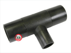 HDPE fittings reduced tee from China