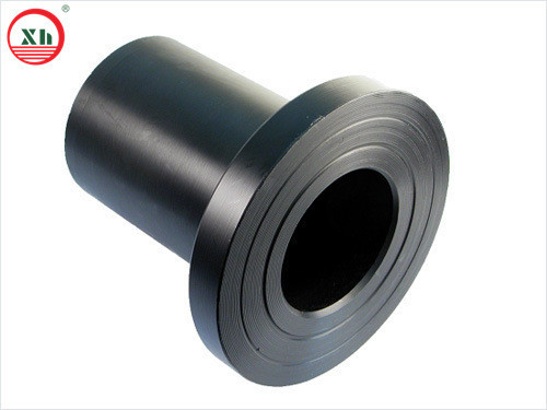 Hdpe black flange adaptor pe from china