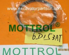 6D15 PISTON RING FOR EXCAVATOR