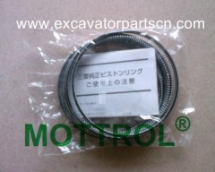 6D34 PISTON RING FOR EXCAVATOR