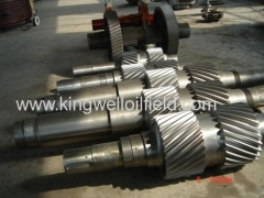 Pinion Shaft BOMCO Mud Pump Parts for Drilling Rig