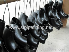 Carbon steel pipe fitting sch40 elbow