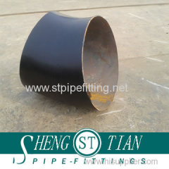Pipe fitting carbon steel elbow 45D