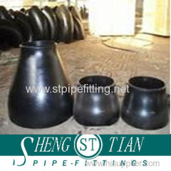Seamless pipe fitting reducer carbon steel