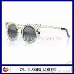Newest Metal Plating Sunglasses