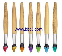 2013 promotional oil brush twist-action ballpen