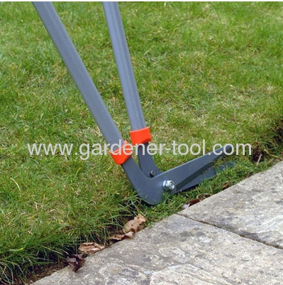 8 Metal Garden Edging Shear With Ergonomical Non-Slip Soft Handle.