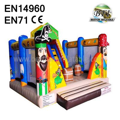 Inflatable Pirate Castle for sale
