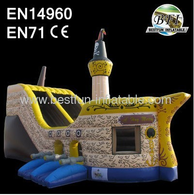 Pirate Ship jumping House