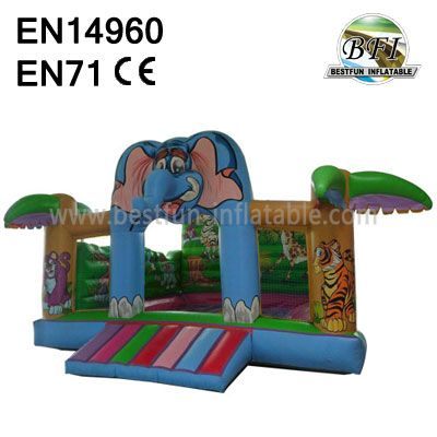 Super Inflatable Playing Castle
