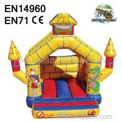 Yellow Inflatable Bouncy Jumping for sale