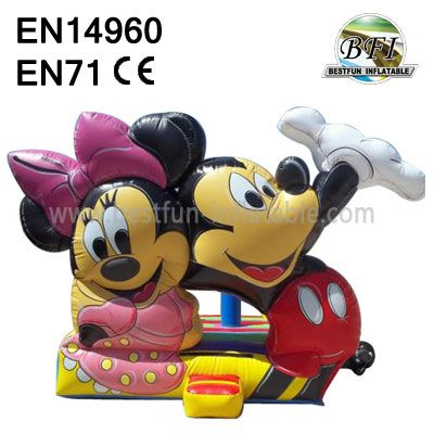 Inflatable Mickey Mouse Bounce House for sale