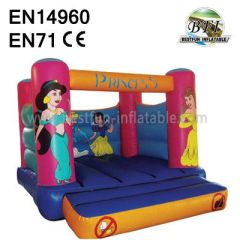 Inflatable Princess Bouncy Castle for sale